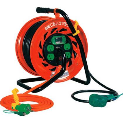 日動工業 日動 マジックびっくリール アース漏電遮断器付き30m RZEB30S 1台  RZEB30S 1 台