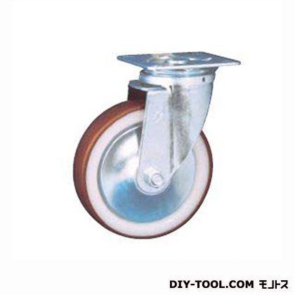 ナンシン 定番中軽量キャスター ウレタン車輪 高さ:190mm STC-150 GNU