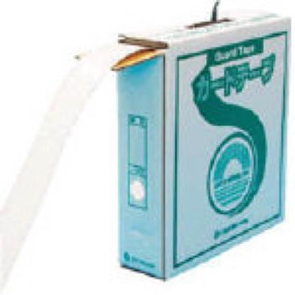 緑十字 GTH-501W ラインテープ(ガードテープ)白再剥離タイプ50幅×100m屋内用 149031