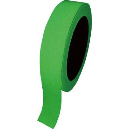 緑十字 FLA-251(蓄光テープ) 高輝度蓄光テープ25mm幅×10m屋内用PET 072004