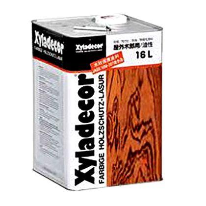 大阪ガスケミカル キシラデコール/高性能木材保護着色塗料 カスタニ 16L (#105) 木部専用 塗料 木部 木材