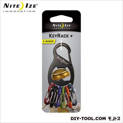 NITE IZE エスビナー 激安通販 キーラックプラス NI01774 ブラックチタン 授与