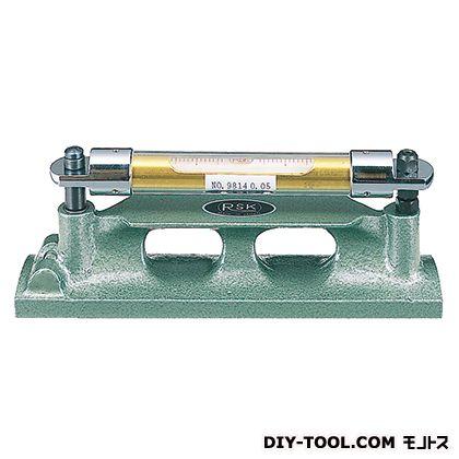 新潟理研測範 ベンチ形水準器 450×0.1 11-10-450