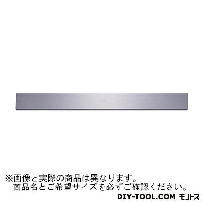 新潟理研測範 長方形直定規A級焼ナシ 3000 39-2-3000