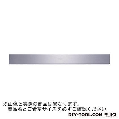 新潟理研測範 長方形直定規B級焼ナシ 500 39-4-0500