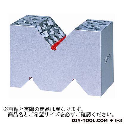 新潟理研測範 鋳鉄製VブロックA形A級 100 47-1-100