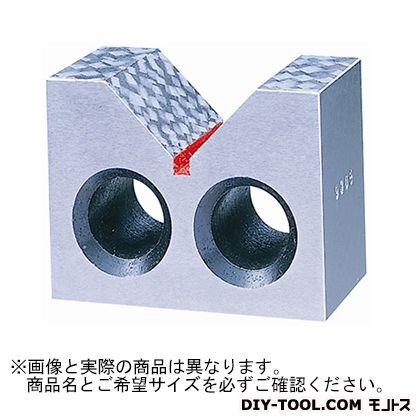 新潟理研測範 鋳鉄製VブロックB形A級 125 47-3-125