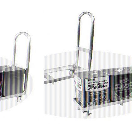 株式会社野中理化器製作所 アルミ製 一斗缶台車 H型 3缶用