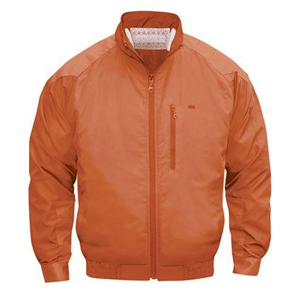 NSP NA-101空調服(S)立ち襟チタン(服) オレンジ M 554582397505659
