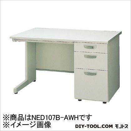 ナイキ 片袖デスク3段  NED107BAWH