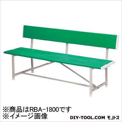 ノーリツイス ベンチ(背付) 緑 RBA1800
