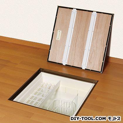 匠力 気密床下収納庫 深型 ブロンズ 外形寸法(mm):616×616×高さ463間口寸法(mm):606×606 N6KEBJ
