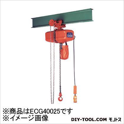 ニッチ 鎖動横行式電気チェーンブロック 0.25t ECG40025