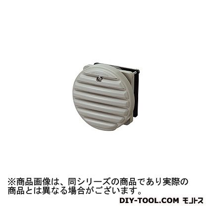 日東工業 換気扇付丸型防水ルーバー ライトベージュ WLP-8K