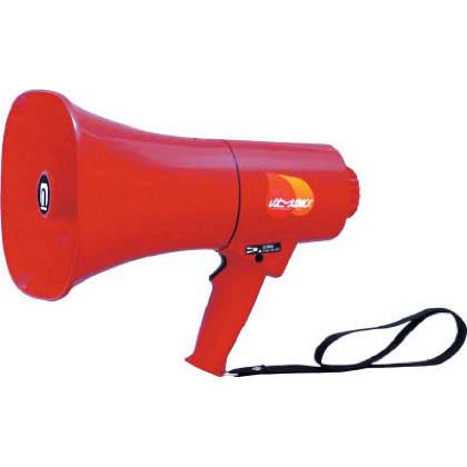 ノボル電機製作所 ノボル レイニーメガホン15W 防水仕様 サイレン音付き(電池別売) TS713P 1台  TS713P 1 台