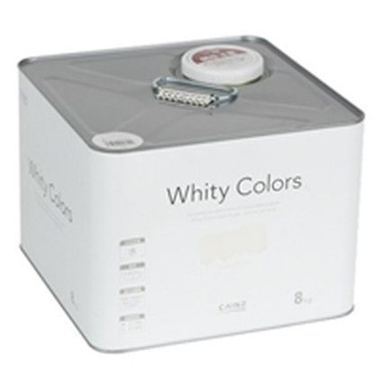 カインズ ホワイティーカラーズ 水性塗料 室内用 ピュアホワイト 8kg