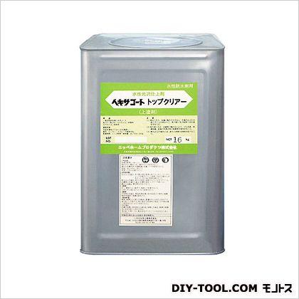ニッペホーム ヘキサコートNO.101 水性トップクリアー 透明(つやあり) 16kg