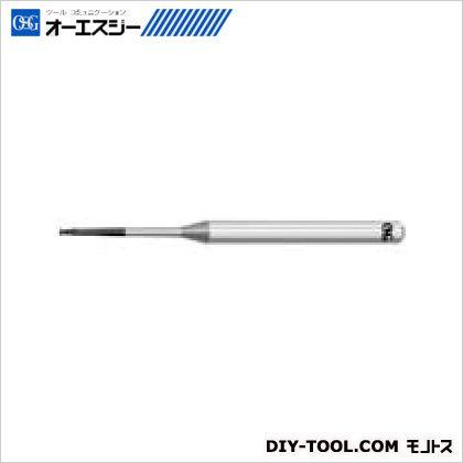 OSG エンドミル 3100520  WXS-CPR 0.5XR0.05X3゜X8