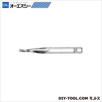 OSG エンドミル 85925  TPBDS R2.5X1.5゚X63X19