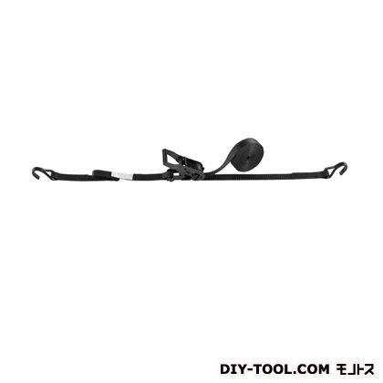 送料無料限定セール中 OH ラッシングベルト ブラック LBR100WBK セール特価 幅×高さ:25×1.8mm DCF5-40DCF