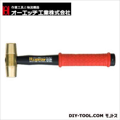 OH ライトン真鍮ハンマー(PP柄) #5 (BS-50LT) 特殊ハンマー ハンマー