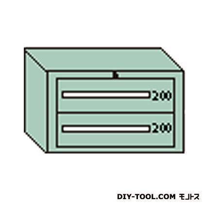 大阪製罐 デラックスキャビネット 若草 幅×奥行×高さ:811×557×481mm DX403