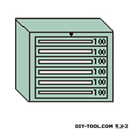 大阪製罐 デラックスキャビネット 若草 幅×奥行×高さ:811×557×681mm DX601