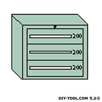 大阪製罐 デラックスキャビネット グレー 幅×奥行×高さ:811×557×681mm DX603G