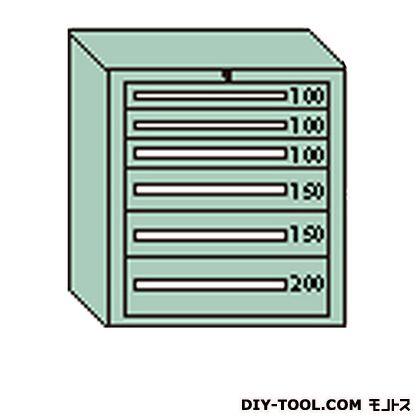 大阪製罐 デラックスキャビネット グレー 幅×奥行×高さ:811×557×881mm DX806G