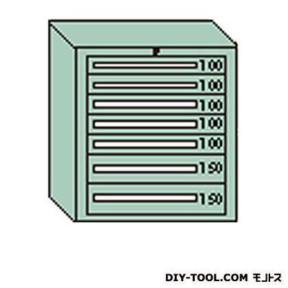 大阪製罐 デラックスキャビネット 若草 幅×奥行×高さ:811×557×881mm DX808