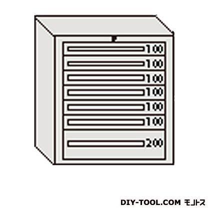 大阪製罐 デラックスキャビネット 若草 幅×奥行×高さ:811×557×881mm DX809