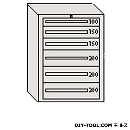 大阪製罐 デラックスキャビネット グレー 幅×奥行×高さ:811×557×1081mm DX1004G