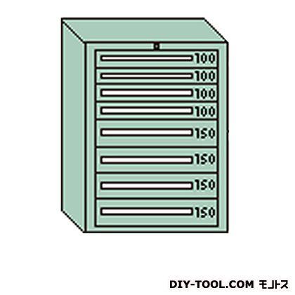 大阪製罐 デラックスキャビネット 若草 幅×奥行×高さ:811×557×1081mm DX1008