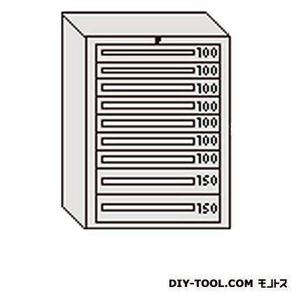 大阪製罐 デラックスキャビネット 若草 幅×奥行×高さ:811×557×1081mm DX1012