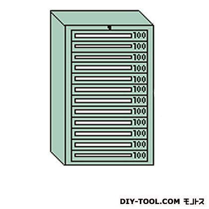 大阪製罐 デラックスキャビネット グレー 幅×奥行×高さ:811×557×1281mm DX1201G