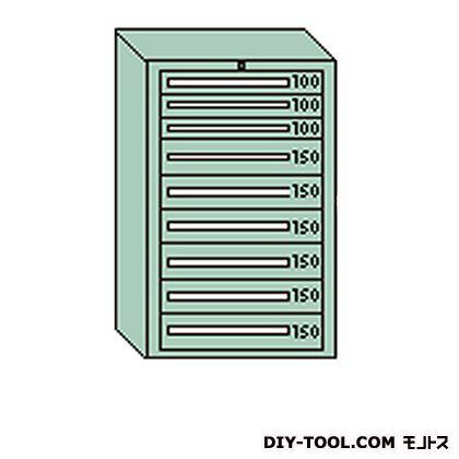 大阪製罐 デラックスキャビネット グレー 幅×奥行×高さ:811×557×1281mm DX1207G
