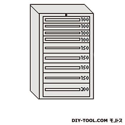 注目 大阪製罐 デラックスキャビネット グレー 幅×奥行×高さ:811×557×1281mm DX1210G, アンティークそっくり f5c8021a
