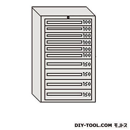 大阪製罐 デラックスキャビネット グレー 幅×奥行×高さ:811×557×1281mm DX1212G