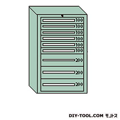 超爆安 大阪製罐 デラックスキャビネット グレー 幅×奥行×高さ:811×557×1281mm DX1213G, ナダサキチョウ 8aa0bc87