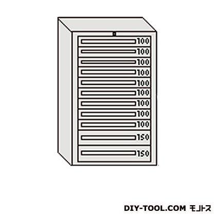 大阪製罐 デラックスキャビネット グレー 幅×奥行×高さ:811×557×1281mm DX1216G