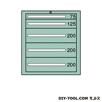 大阪製罐 デラックスキャビネット 幅×奥行×高さ:811×557×881mm DX823