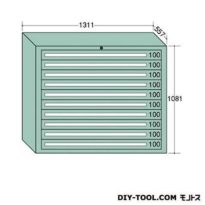 大阪製罐 ワイドキャビネット 幅×奥行×高さ:1311×557×1081mm 12-1001