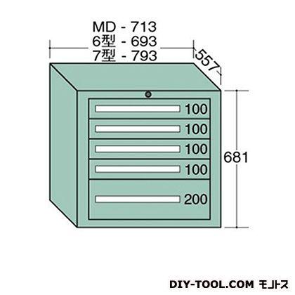 独特の素材  大阪製罐 ONLINE 6-607:DIY FACTORY 幅×奥行×高さ:693×557×681mm SHOP スタンダードキャビネット-DIY・工具