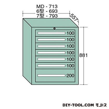 大阪製罐 スタンダードキャビネット 幅×奥行×高さ:693×557×881mm 6-809