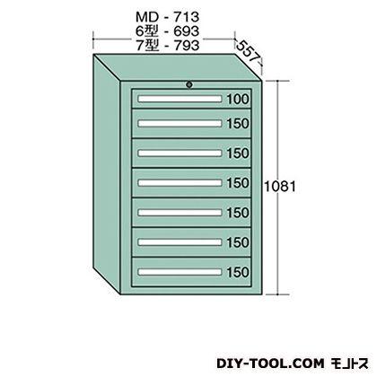大阪製罐 スタンダードキャビネット 幅×奥行×高さ:693×557×1081mm 6-1003