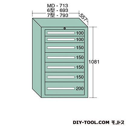 大阪製罐 スタンダードキャビネット 幅×奥行×高さ:693×557×1081mm 6-1006