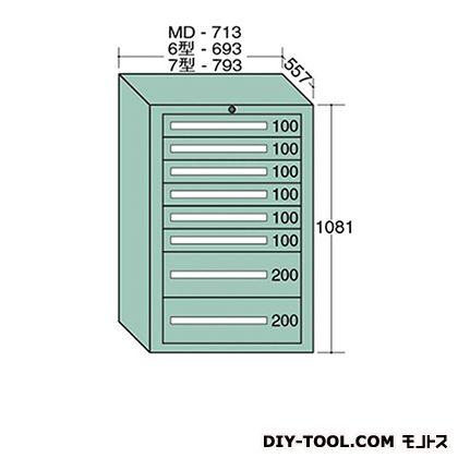 大阪製罐 スタンダードキャビネット 幅×奥行×高さ:693×557×1081mm 6-1011