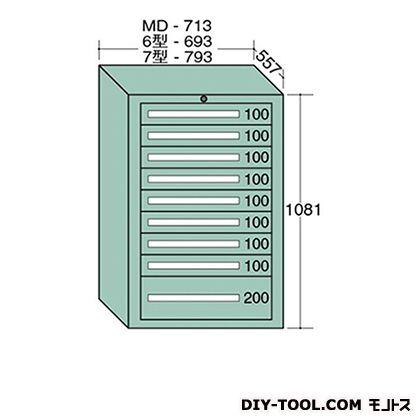 大阪製罐 スタンダードキャビネット 幅×奥行×高さ:693×557×1081mm 6-1013