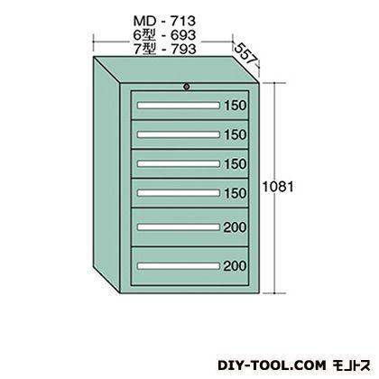 大阪製罐 スタンダードキャビネット 幅×奥行×高さ:693×557×1081mm 6-1014