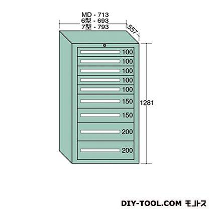 大阪製罐 スタンダードキャビネット 幅×奥行×高さ:693×557×1281mm 6-1211